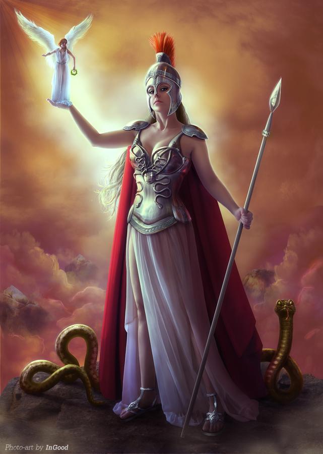 the greek goddess athena